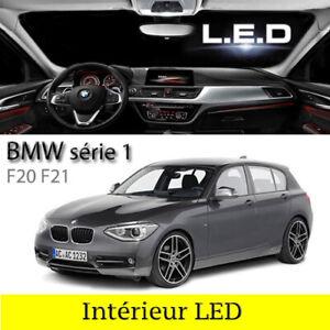 Kit ampoules à LED éclairage intérieur habitacle Blanc pour BMW série 1  F20 F21
