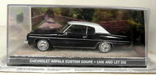Eon échelle 1/43 james bond 007 chevrolet impala custom live & let die diecast voiture