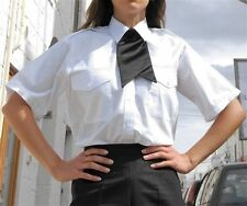 Polycotton Collared Business Tops & Shirts for Women