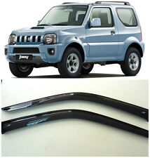 For Suzuki Jimny 3d JB43 1998-2017 Window Visors Sun Rain Guard Vent Deflectors