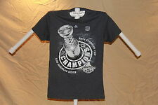 LOS ANGELES KINGS 2014 Stanley Cup Champions T- SHIRT Youth Medium MAJESTIC  NWT