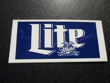 MILLER LITE Blue Classic Logo STICKER decal craft beer brewery brewing