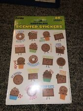 EUREKA CHOCOLATE 80 STICKERS SCENTED. New In Packaging.  Free Shipping!!!