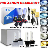 DC HID Xenon Headlight Conversion Kit 9005 9006 H1 H3 H4 H7 H8 H9 H11 D2S D1S