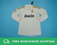 Real Madrid 2011-2012 Home Long-Sl. Jersey Shirt Ronaldo Xabi Alonso Sizes S-XXL