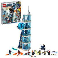 NEW LEGO 76166 Marvel Avengers Tower Battle Building Set