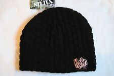 KORN GRAFFITI PATCH BEANIE SKI HAT NEW OFFICIAL LIFE IS PEACHY UNTOUCHABLES