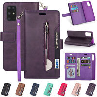 For Samsung Galaxy S20 Ultra S20 Plus Flip Card Wallet Leather Stand Case Cover