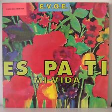 "E.V.O.E. – Es Pa Ti Mi Vida (Vinyl, 12"", MAXI 33 Tours)"