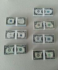 1/6 scale 1930's stacks & loose money bills for GI Joe 12 inch figures Gangsters