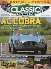 CLASSIC & SPORTS CAR 43 S2 AC COBRA 289 JAGUAR XJ6 XJ12 S1 GOLDAMINI JENSEN C-V8