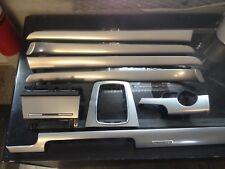02-05 Audi A4 Quattro Carbon Fiber Silver Trim Set