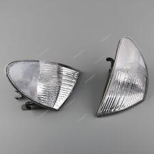 Paar L+R Vorne Blinker Klarglas Blinkleuchten weiss Für BMW E46 325i 328i 330i