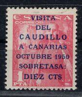 D136561/ SPAIN / Y&T # 807A MINT MH CERTIFICATE CV 175 $