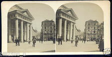 photo stéréoscopique . Italie . Rome . Italia . Trieste. vers 1900