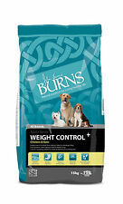 Burns Weight Control Chicken & Oats Hypoallergenic Adult Diabetic Dog Food 15kg