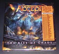 ACCEPT THE RISE OF CHAOS LIMITIERTE CD IM GATEFOLD DIGIPAK SCHNELLER VERSAND NEU