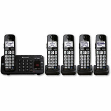 Panasonic Kx-Tge245B Digital Cordless Phone 5 Handsets