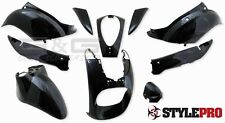 Disguise Kit Panel Fairing parts in black Sym Mio 50 to BJ. 09