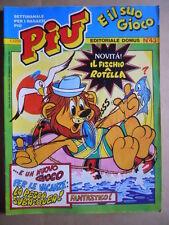 PIU e il suo Gioco n°43 1983  He Man Master of Universe Ed. Domus  [G416]