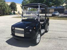 Luxury 2021 Black e caliber golf cart 4 passenger fast AC motor 450A controller