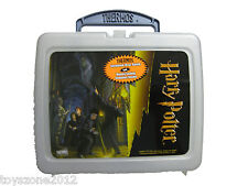"Harry Potter Plastic Lunch Box 7.5"" x 9"" plus Bonus Thermos"