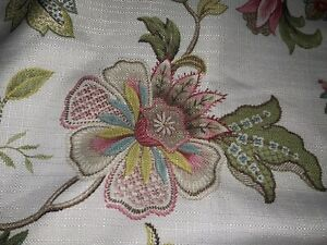 COUNTRY CURTAINS PRETTY VALANCE~IVORY,ROSE,TEAL,GREEN (3)AVAILABLE