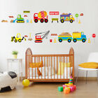 Colorful Animal World Map Wall Sticker Living Room Office Cartoon Car Home Decal
