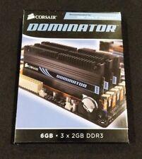 Corsair Dominator TR3X6G1600C7D 6GB DDR3 (2x3GB) 1600MHz 7-7-7-20
