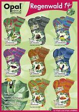 Sockenwolle OPAL 4 fach Regenwald 14 verschiedene Farben