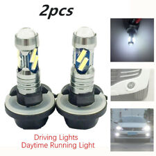 2X100W LED Fog Driving Light Bulb 881 862 886 7000k-7500k White 7020 Double Core