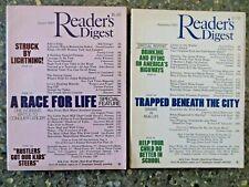 Reader's Digest August 1985 September 1985 Manatees Vintage Ads Drunk Driving