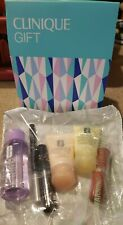 Clinique 6 Piece Makeup & Skincare Bonus Gift Set Travel Sizes NEW SEALED