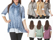 Unbranded Waist Floral Cotton Tops & Shirts for Women