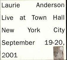 LAURIE ANDERSON -  Live At Town Hall New York - 2CD SIGILLATO NEW SEALED RARO