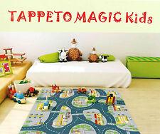 TAPPETO PER CAMERETTA CAMERA BAMBINI MAGIC KIDS IN PVC MORBIDO F.TO 140x180cm