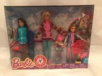 Barbie Sisters Winter Getaway Pink Passport - Barbie, Skipper, Stacie, Chelsea