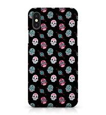 Colourful Floral Patterned Mandala Sugar Skull Faces Pattern Phone Case Cover