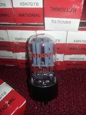 National 6SN7 GTB- NIB NOS Vintage Tube URSS Red label