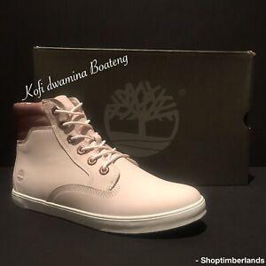 Timberland Women's Dausette Sneaker Boot Chukka Natural Nubuck A25QR. SZ:9