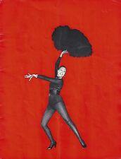 """""""Paris mes Amours"""" JOSEPHINE BAKER Olympia Panoramique '59 Paris, France Program"""