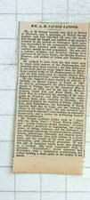 1925 Mr Ah Savage Landor, Pioneering White Traveller, Dies At Florence