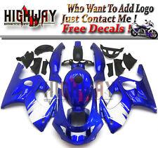Fit Yamaha YZF600R 1997-2007 ABS Fairings Kit Bodywork Blue White FG Frame