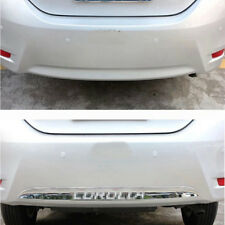 1x Chrome ABS Rear Bumper Molding Trim Cover Protector for Toyota Corolla