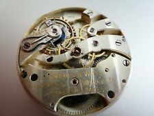 High grade Hopkins & Witty Antikes Broken  Pocket watch Patek? Movement (W579)