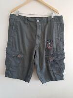 Mens Shorts W38 Grey Cherokee <EE3991z
