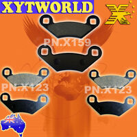 FRONT REAR Brake Pads POLARIS ATV 400 Sportsman HO 4x4 2011 2012 2013 2014