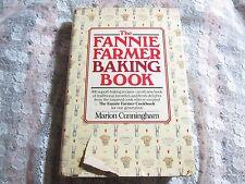 1984 HC 1st Ed The Fannie Farmer Baking Book Cookbook, Marion Cunningham