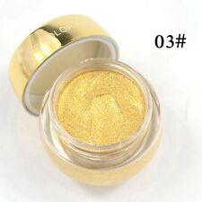 16 Colors Glitzy Shimmer Eye Shadow Glitter Eyeshadow Cream GEL Makeup Powder/p 3#