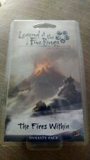 Legend of the Five Rings: The Fires Within (opened, condition excellent)